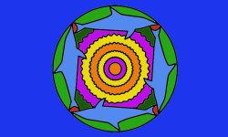 Coloring Mandalas Funny 2 screenshot 2/4