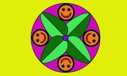 Coloring Mandalas Funny 2 screenshot 3/4