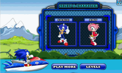 Sonic Jetski Race screenshot 1/4