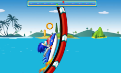 Sonic Jetski Race screenshot 3/4