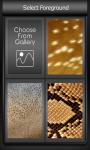 Zipper Lock Screen Animal Skin screenshot 3/6
