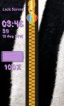 Zipper Lock Screen Animal Skin screenshot 6/6