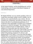 Nicholas Nickleby by Charles Dickens; ebook screenshot 1/1