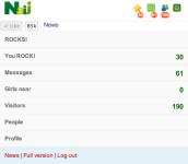 My Naij - Nigerian Social Network screenshot 1/3
