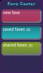 FaveCaster screenshot 2/4