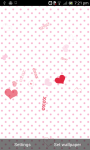 Valentine Card Live Wallpaper free screenshot 1/5