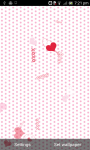 Valentine Card Live Wallpaper free screenshot 2/5