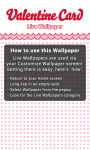 Valentine Card Live Wallpaper free screenshot 5/5