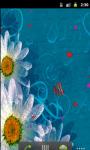 Daisy Flower Love Live Wallpaper screenshot 2/5
