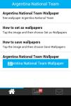 Argentina National Team Wallpaper screenshot 2/6