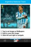 Argentina National Team Wallpaper screenshot 5/6