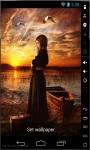 Praying at Sunset Live Wallpaper screenshot 1/2