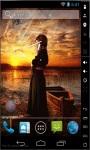 Praying at Sunset Live Wallpaper screenshot 2/2