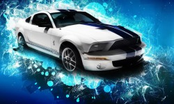 Stunning Muscle Ford Cars HD Wallpaper screenshot 5/6