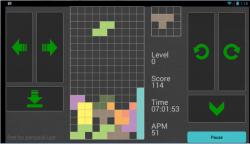 Block Tetris Game screenshot 2/4