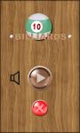 Billiard Pool screenshot 1/4