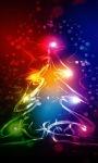 Neon Christmas Live Wallpaper screenshot 2/3