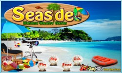 Free Hidden Object Games - Seaside screenshot 1/4