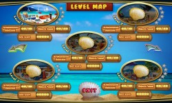 Free Hidden Object Games - Seaside screenshot 2/4
