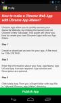 App Maker For Chrome screenshot 4/4