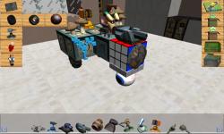 Blocky Pixel Car Builder 3D - Create n Drive screenshot 2/4