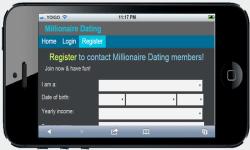 Millionaire Dating screenshot 2/4