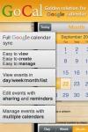GoCal (Google Calendar full support) screenshot 1/1