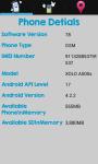 Phone and SIM details screenshot 1/4