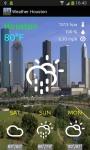Weather Houston Forecast screenshot 1/3
