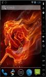 Rose On Fire Final Live Wallpaper screenshot 1/2