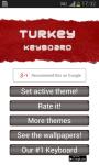 Turkey Keyboard screenshot 5/6