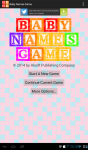 Baby Names Game screenshot 1/6