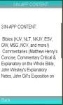 NIV Bible Guide screenshot 1/1