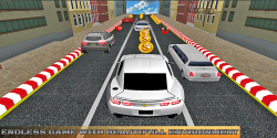 3D Speed Car Drive: On Run screenshot 4/5