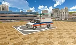 Flying Ambulance Simulator 3D screenshot 4/4