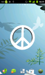 Peace Live Wallpapers App screenshot 1/2