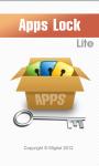 Apps Lock Lite screenshot 1/6