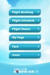 Korean Air iPhone Service screenshot 1/1