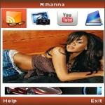 Rihanna Mobile screenshot 1/1