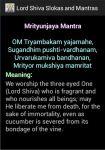 Lord Shiva Slokas And Mantras screenshot 1/2