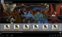 Gargoyles Cartoon Fan App screenshot 1/3