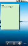 One Note Widget screenshot 4/5