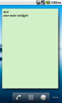 One Note Widget screenshot 5/5