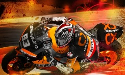 Download Marc Marquez 93 MotoGP 2014 Wallpaper screenshot 1/6