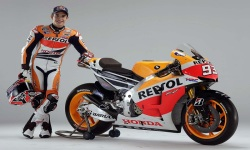 Download Marc Marquez 93 MotoGP 2014 Wallpaper screenshot 2/6