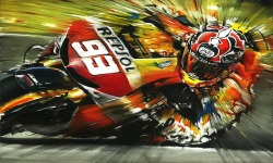 Download Marc Marquez 93 MotoGP 2014 Wallpaper screenshot 6/6