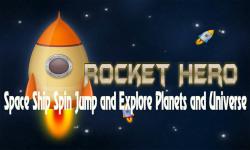 Rocket Hero - Space Ship Spin to Explore Planets screenshot 5/6