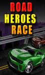 Road Heroes Race - Free screenshot 1/4