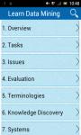 Learn Data Mining screenshot 1/3