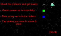 Meteors screenshot 4/4